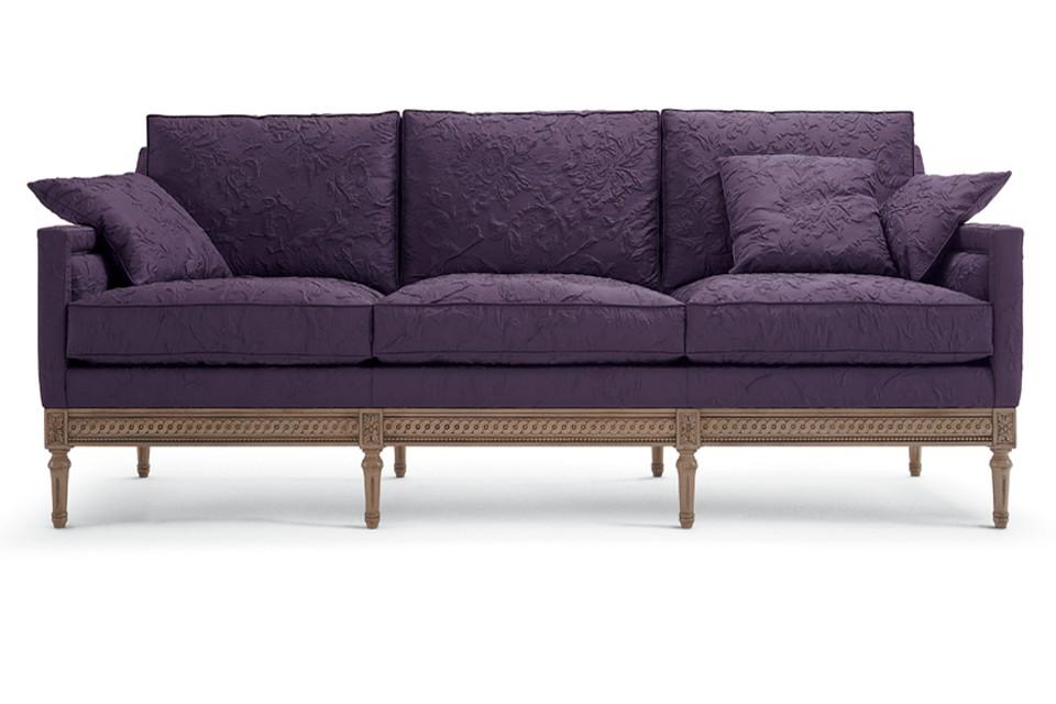 Image Gallery Plum Sofa